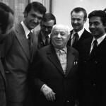 И.Д. Папанин и участники полярной экспедиции «Комсомольской правды»