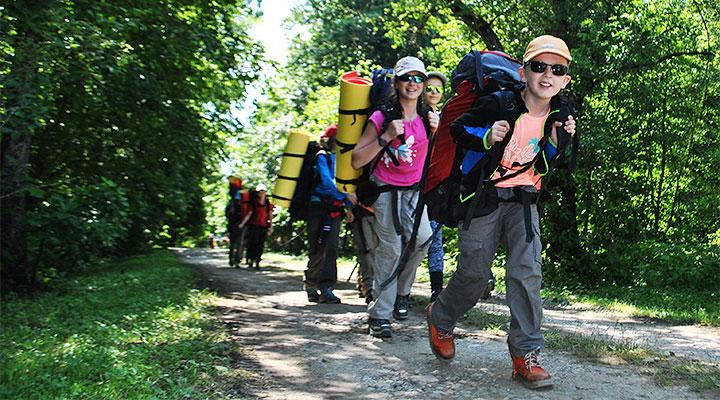 Минувшим летом в «Большом Приключении» отдохнуло 1200 юных путешественников.