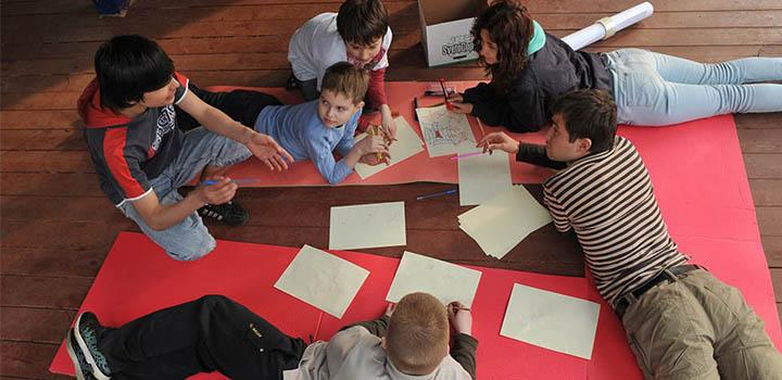 Детский лагерь в Подмосковье на выходные.