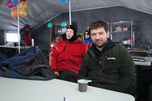 Руководители экспедиции Борис Смолин и Матвей Шпаро