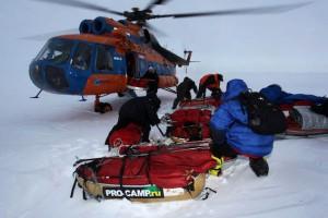 Высадка на лед