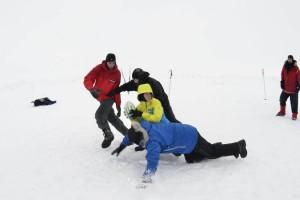 Регби на снегу