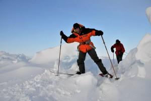 Переход через арктические Альпы