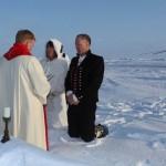 Борге Оусланд и его невеста. Фото – сайт Barneo.ru