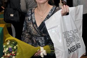 Участница паралимпийских игр в Лондоне Марина Лыжникова