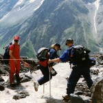 Приэльбрусье. Тренировка команды перед восхождением на Килиманджаро