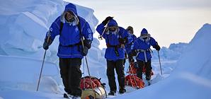 Молодежная экспедиция к Северному полюсу