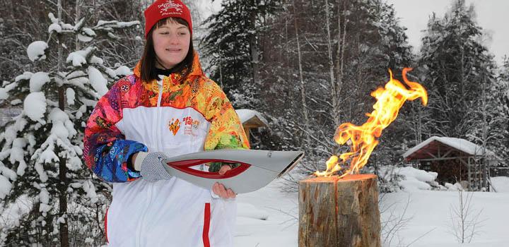 Мергубский олимпийский огонь
