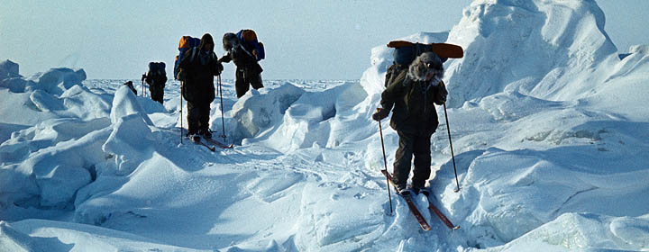 Полярный мост СССР – Северный полюс – Канада