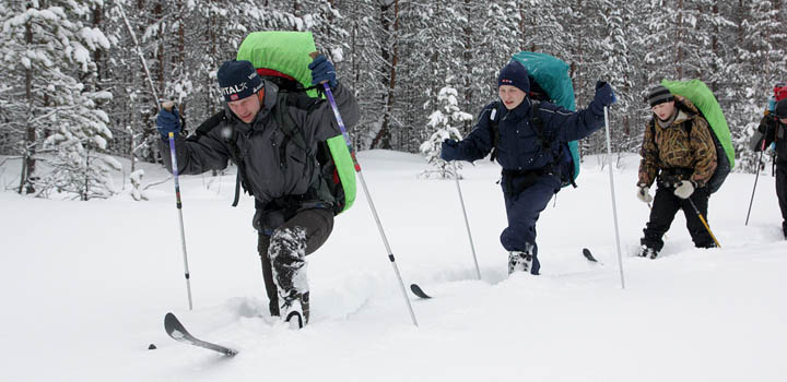 Порой на сборах в Карелии тяжелее, чем в Арктике