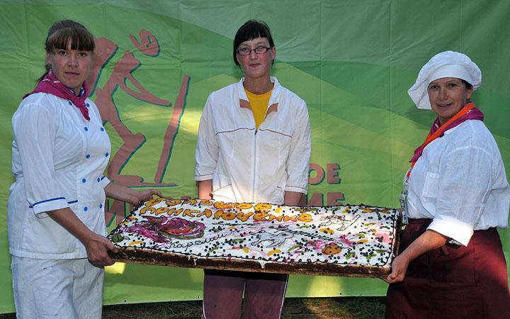 Подарок участникам международной программы «Дети Арктики», 2011 год