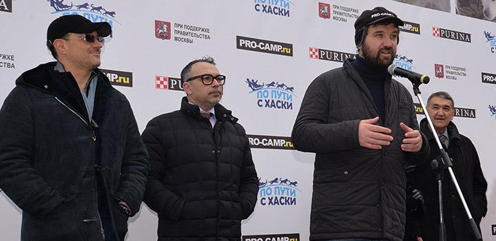 Актер Егор Бероев, Алессандро Дзанелли («Нестле Пурина ПетКер»), Матвей Шпаро, Дмитрий Шпаро.