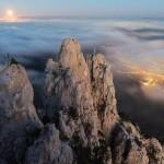 Туманная и таинственная Ай-Петри