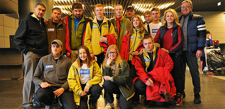 Команда Матвея Шпаро отправилась в Арктику.