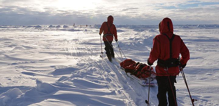 Матвей Шпаро: «Лед безобразный, сплошные торосы».