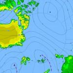 Прогноз погоды по району Северного полюса.