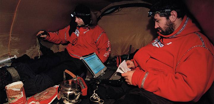Бери пример с героев! Матвей Шпаро писал походный дневник и в 40-градусный мороз.