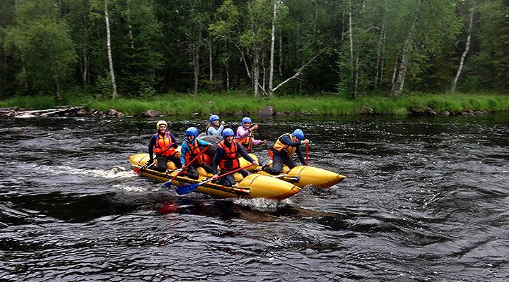 «Лучший отдых – путешествовать там, где тебе нравится находиться. Мне больше всего нравятся реки....»