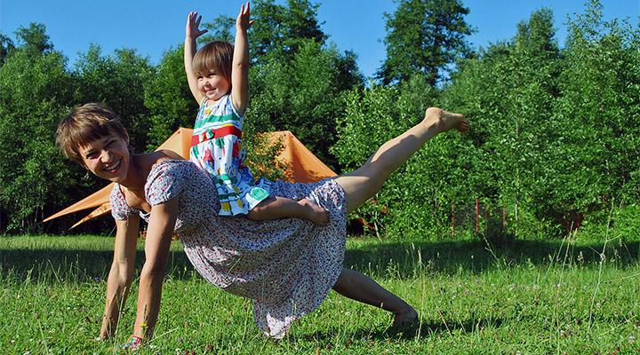 Ирина Соловьева со своей главной ученицей