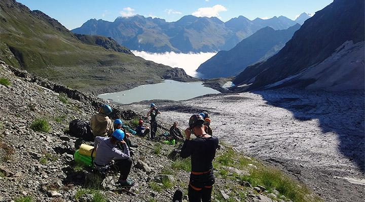 Это пейзаж – еще один ответ на вопрос зачем мы ходим в горы.