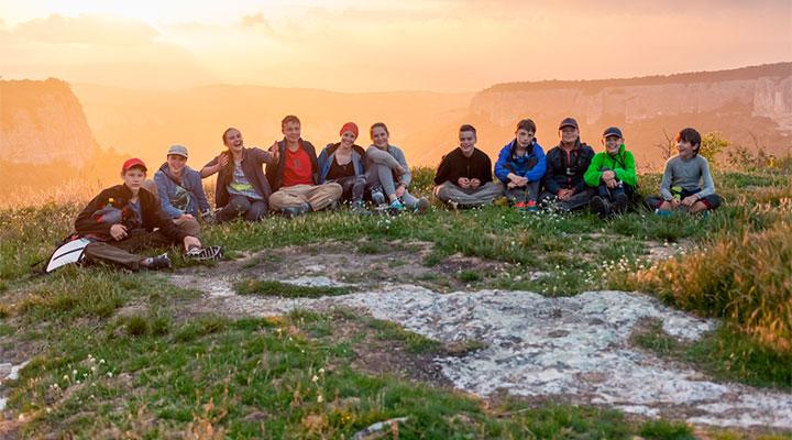 Маршруты путешествий «Большого Приключения» проходят в районе Большого Крымского каньона