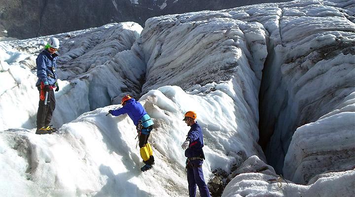 Занятия по ледовой технике