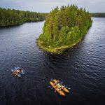 Детский лагерь «Большое Приключение». Сплав подарит ребятам удовольствие от путешествия по рекам и озерам Карелии.