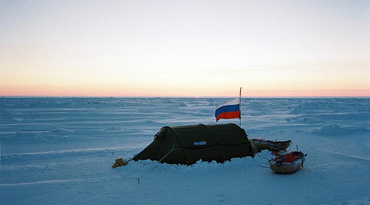 15 марта 2008 года. Утра на Северном полюсе.
