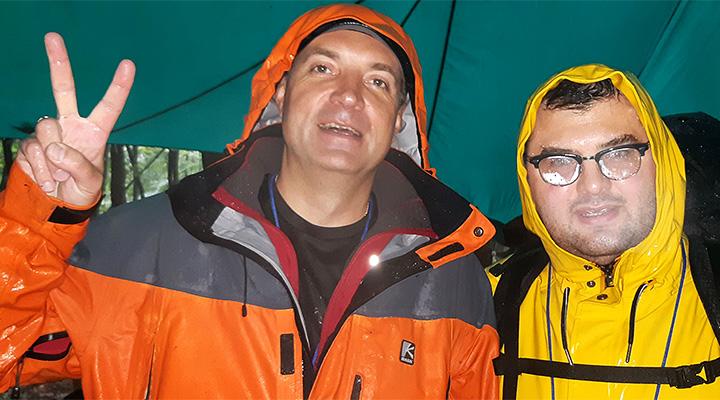 #директорВпоход. Дмитрий Исаев (школа № 446 ) и Юрий Вержбицкий (школа № 892).