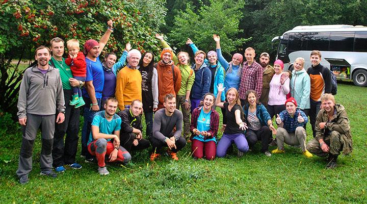 Участники сборов – инструкторы «Большого Приключения» и педагоги «Лаборатории путешествий»