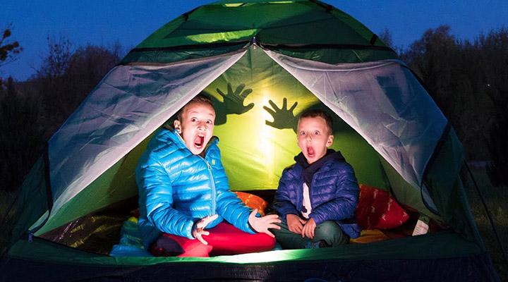 Отдых в палаточном лагере должен быть интересным в квадрате!