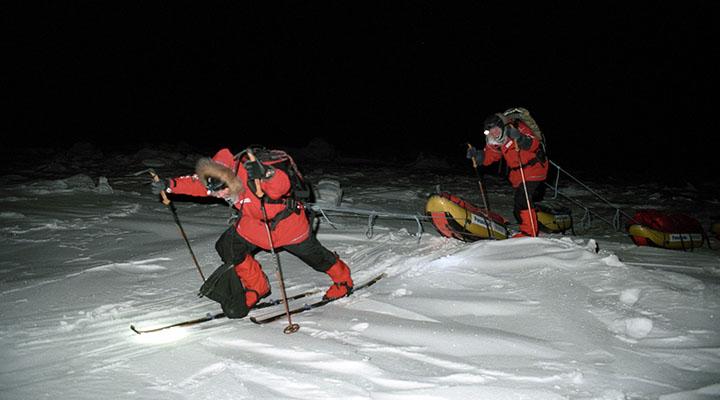 Движение по дрейфующему льду – это непредсказуемый эскалатор