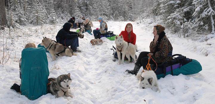 Зимний лагерь «Большое Приключение»