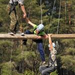Веревочный курс в лагере