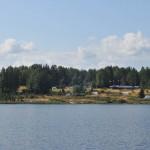 На берегу озера Мергубского