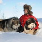 Зимний лагерь для студентов в Карелии