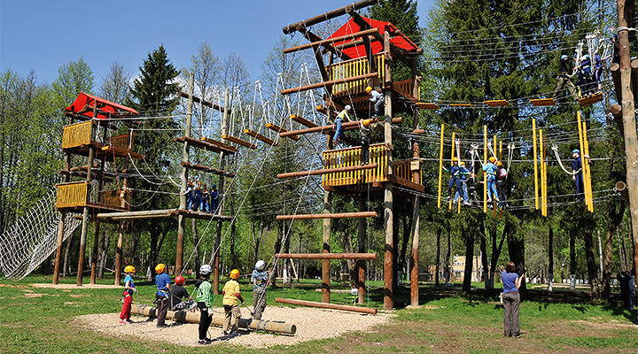 Детский лагерь в Подмосковье