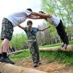 Детский лагерь в Подмосковье. Упражнения «Нижнего курса»
