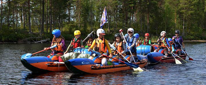 Лагерь принимает юных путешественников с 8 лет