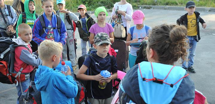 В карельское «Большое Приключение» прибывает новая смена уставших от учебы школьников