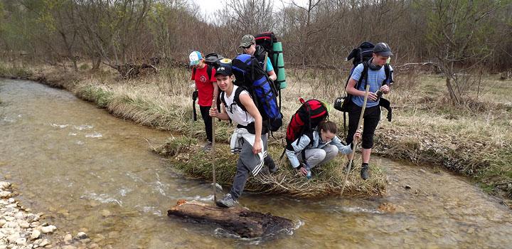 Перед началом главного путешествия проводится пробный выход на хребет Герпегем