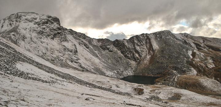Загадочное озеро Роберта Скотта.