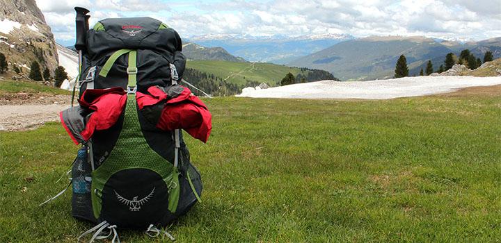 Турист ушел, рюкзак – остался.