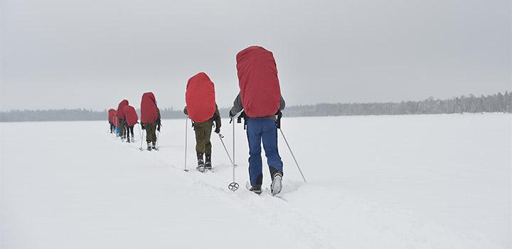 Лыжня на полюс начинается в «Большом Приключении».