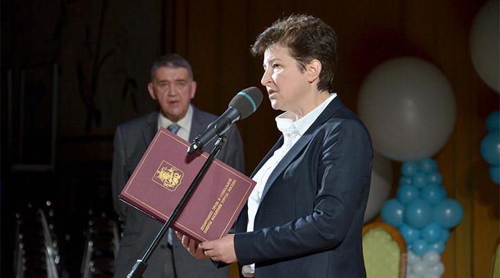 Замруководителя Департамента труда и социальной защиты населения города Москвы Татьяна Полякова.