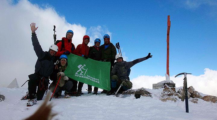 Инструкторы «Большого Приключения» проложили маршрут на вершину Фишта