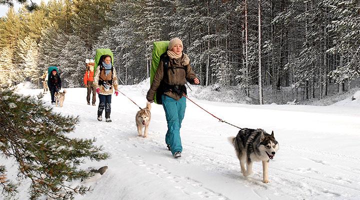 «Большое Приключение»: гуляем на свежем воздухе и радуемся жизни.
