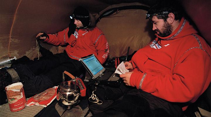 Борис Смолин (слева) и Матвей Шпаро.