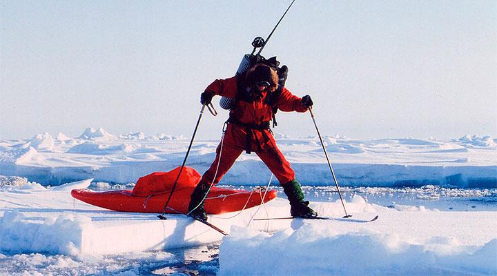 Тренировка в проливе Лонга стала генеральной репетицией ночного путешествия к Северному полюсу.