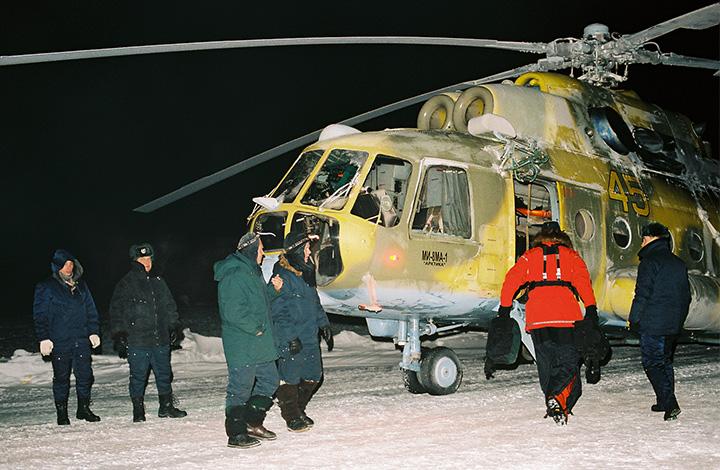 Ночная полярная экспедиция Матвея Шпаро и Бориса Смолина, 2007-2008 г.